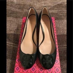Never worn, Tory Burch heels, black, size 9
